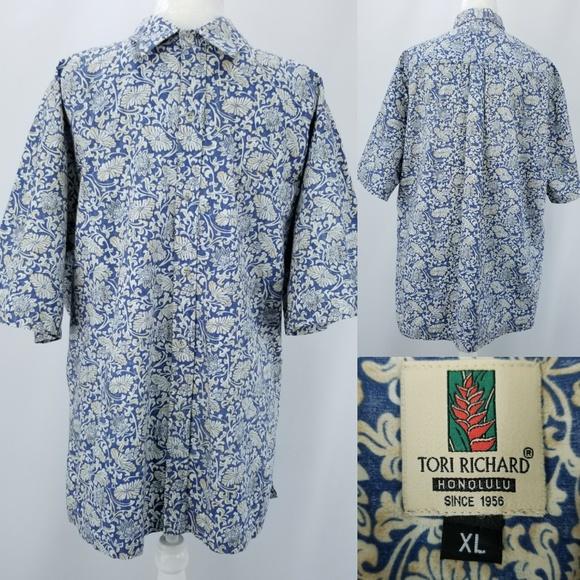 bf2e83df Tori Richard Honolulu Reverse Hawaiian Shirt XL. M_5c19589204e33d34543844be
